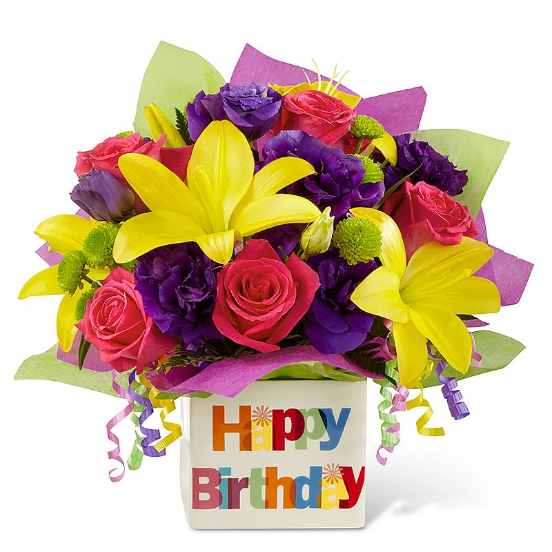 Flower Bouquets During Birthday
