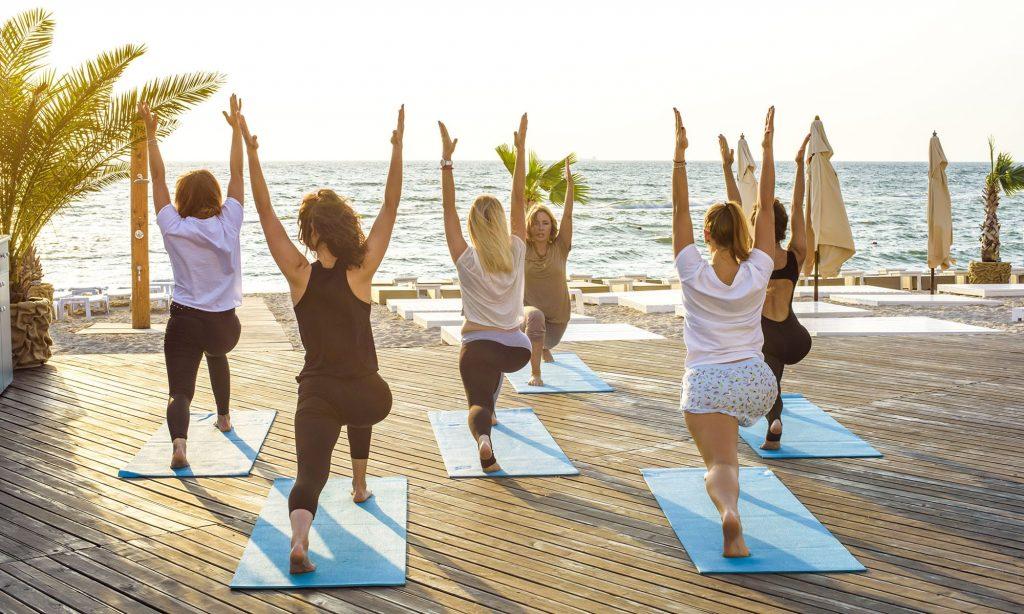 perfect yoga retreat in India