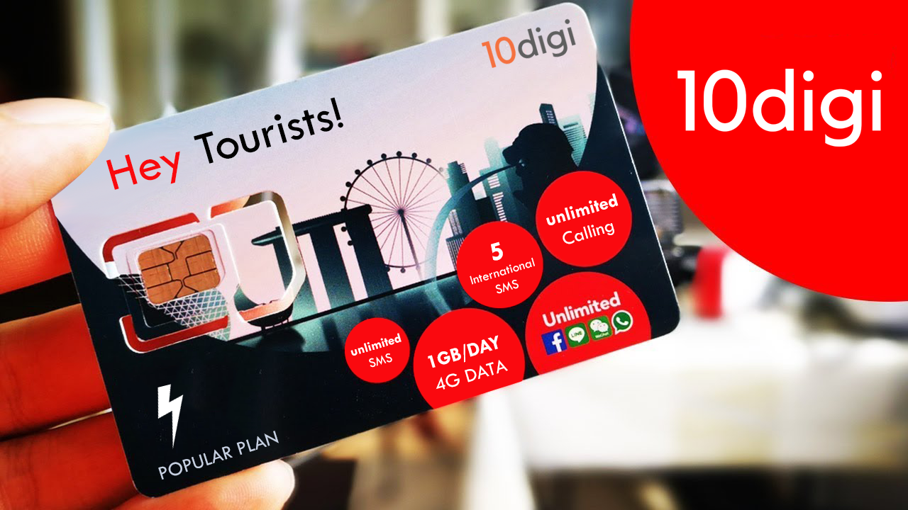Indian tourist SIM card
