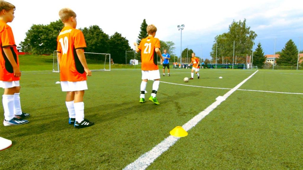 Football Training For The Kids