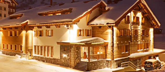 ski chalets in Austria